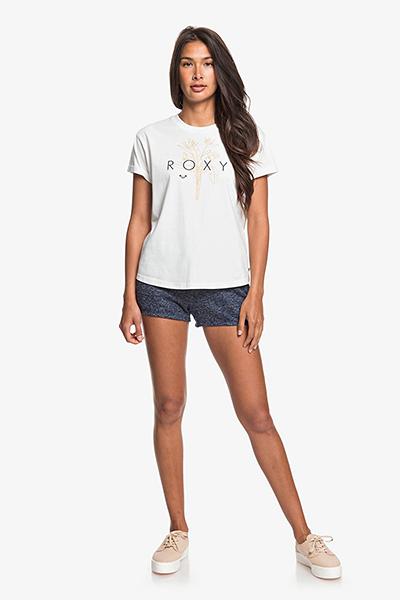Футболка женская Roxy Epic Af Logo J Tees Wbk0 Snow White