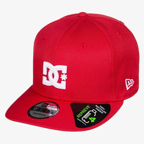 Бейсболка с прямым козырьком DC Shoes Empire Fielder Racing Red
