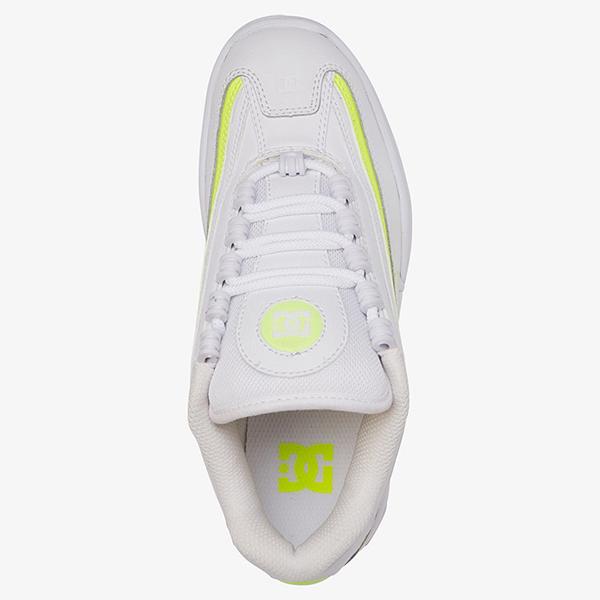 Кеды женские DC Shoes Legacy Lite White/Yellow