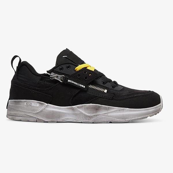 Кроссовки DC Shoes E.tribeka Zip Black/Yellow/Yellow