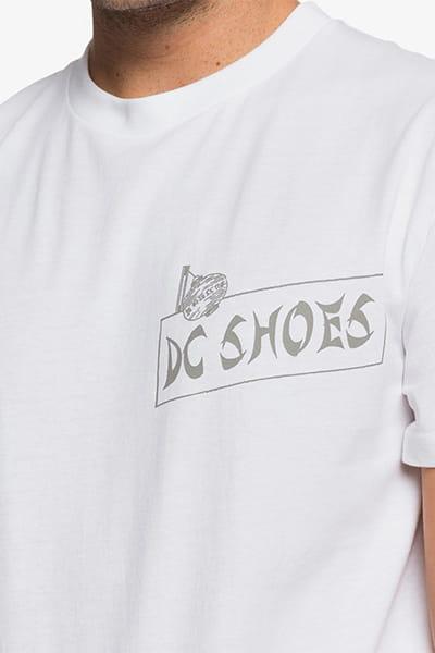 Футболка DC Shoes Lets Stick Tgtr White