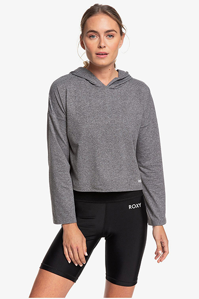 Лонгслив Roxy Behind The Sun Charcoal Heather