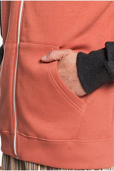 Мужская толстовка классическая QUIKSILVER Everydayzip Redwood-105