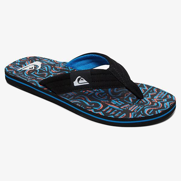 Вьетнамки QUIKSILVER Molokai Layback Black/Black/Blue21-136