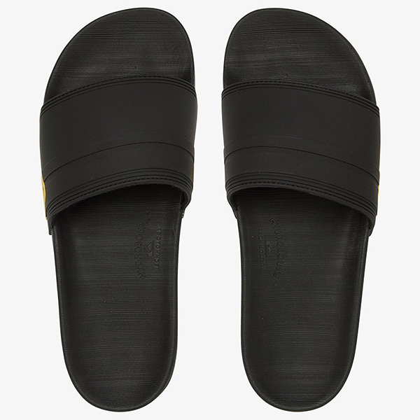 Шлепанцы QUIKSILVER Rivi Slide Black/Black/Yellow26-153