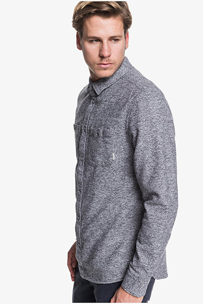 Рубашка QUIKSILVER Wollemi Medium Grey Heather-180