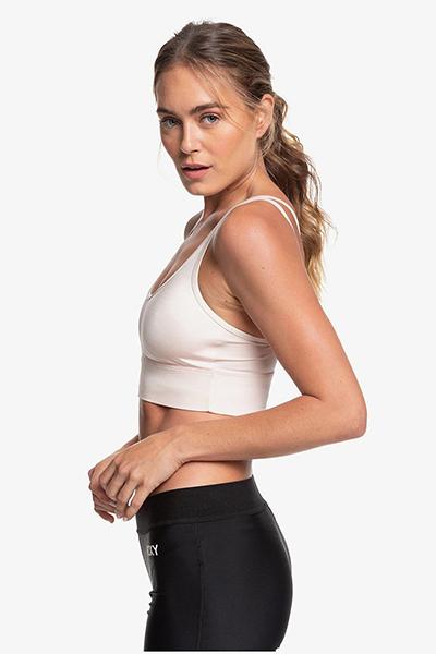 Спортивный топ женский Roxy Wlc T Peach Blush