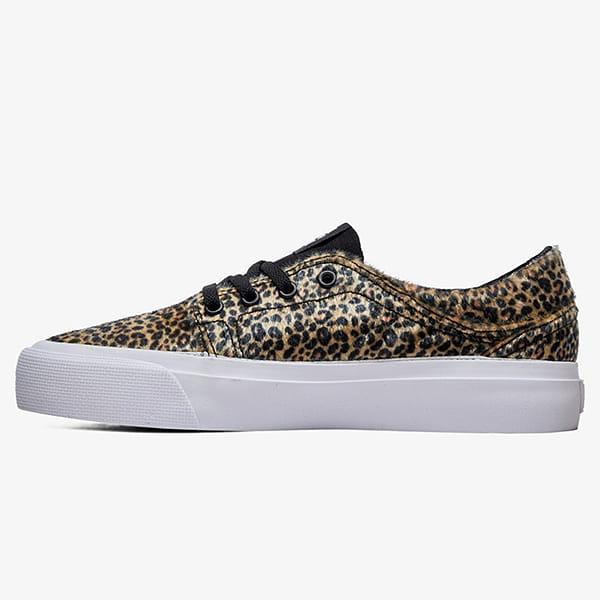 Кеды низкие детские DC Shoes Trase Leo Black/Leopard
