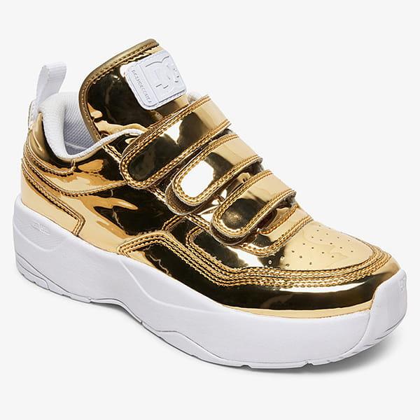 Кроссовки детские DC Shoes E.trbkaplatvle Gold