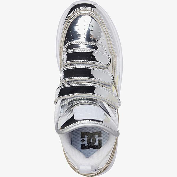 Кроссовки детские DC Shoes E.trbkaplatvle Silver