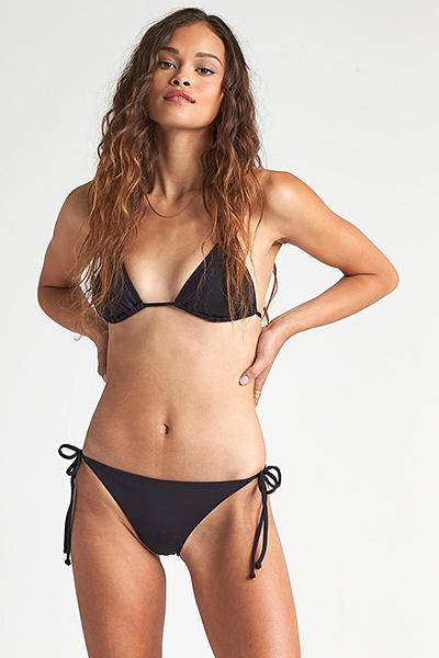 женские Billabong Плавки S.s Tie Side Tropic Black Pebble