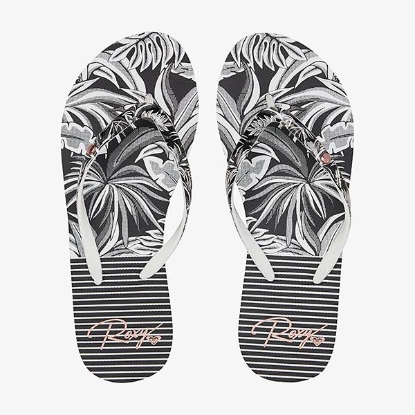 Шлепанцы женские Roxy Portofino Iii J Sndl Bwp Black/White Print