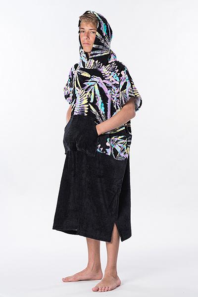 Полотенце Rip Curl Hopper Poncho Black