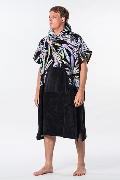 Полотенце Rip Curl Hopper Poncho 90 Black