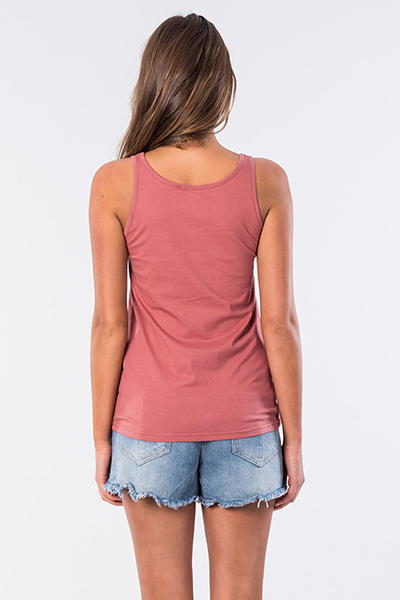 Футболка Rip Curl Wave Tank Rose Red