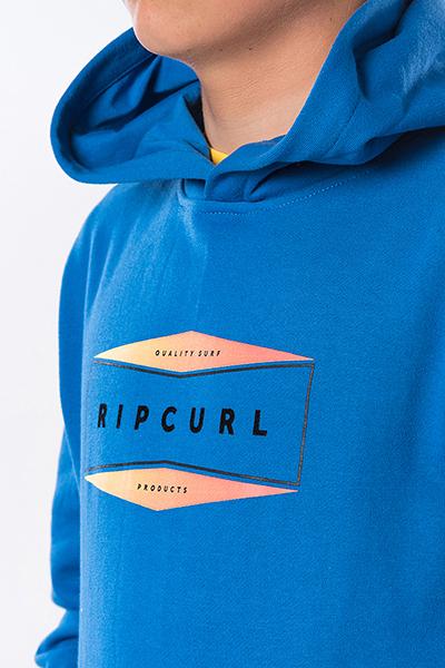 Толстовка кенгуру детская Rip Curl  Fleece Corpo Blue