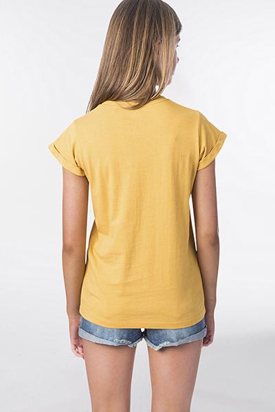 Футболка детская Rip Curl Girl Pineapple Tee Mustard