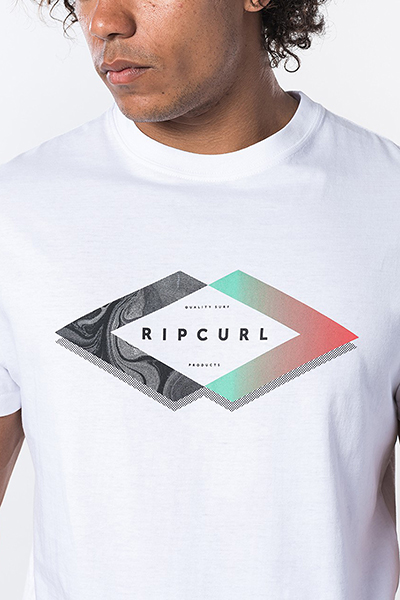 Футболка Rip Curl М Quoted Tee Optical White