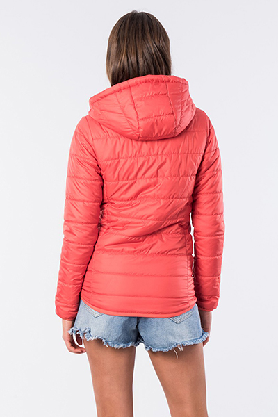 Куртка Rip Curl Search The Ii Puffer Burnt Red