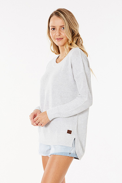 Джемпер Rip Curl Wanderer Crew Light Grey Heat
