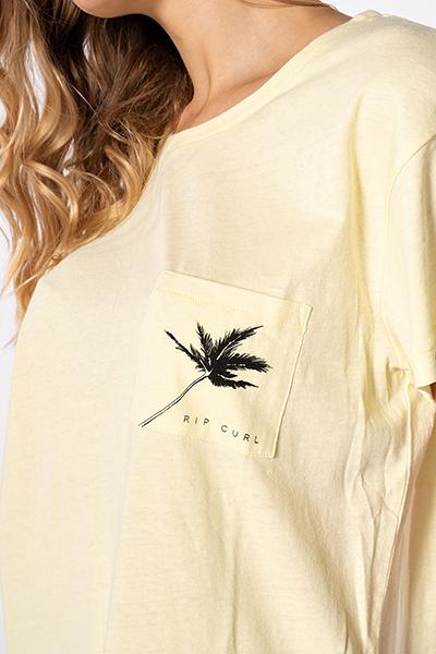 Футболка женская Rip Curl Minimalist Wave Tee Wax Yellow