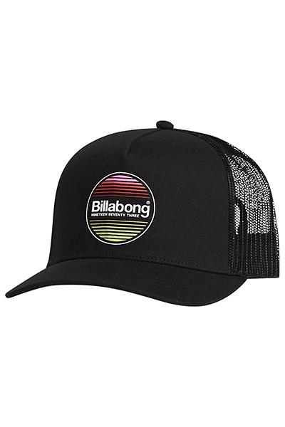 Бейсболка Billabong Flatwall Trucker Black