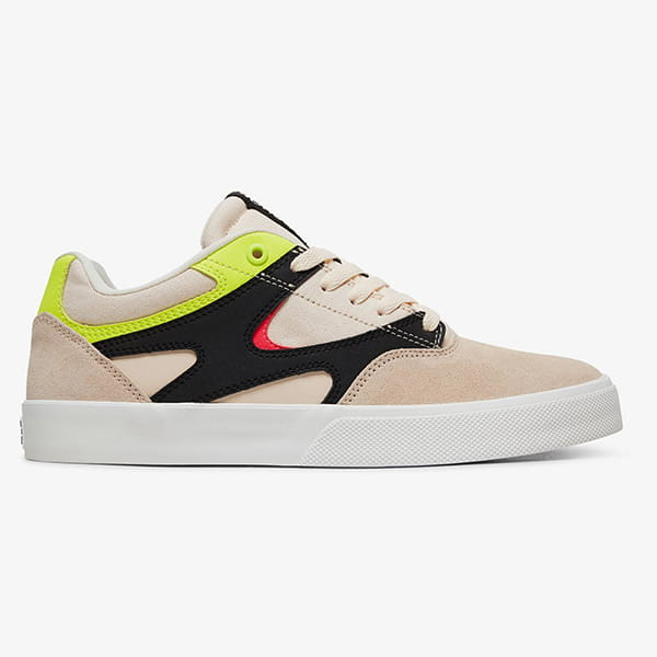 Кеды DC Shoes Kalis Vulc Pink/Whi Fluorescent