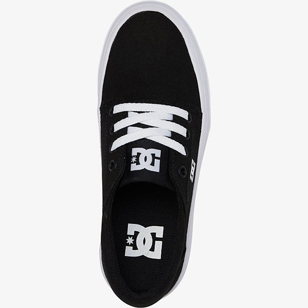 Кеды детские DC Shoes Trase Plat Black/White