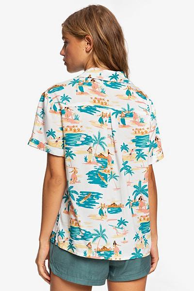Рубашка женская Roxy Remind To Forget Honolulu Snow White