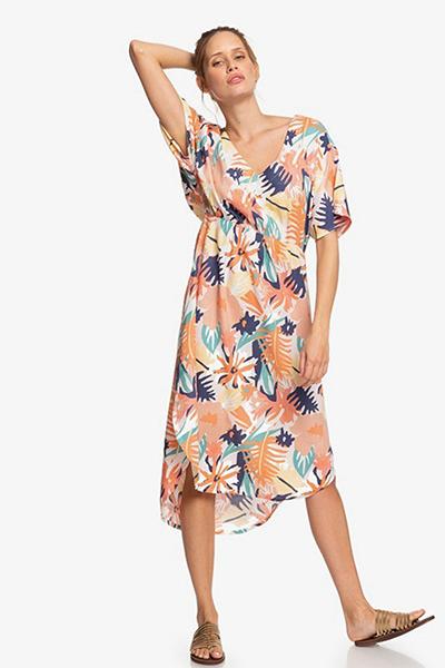 Платье женское Roxy Flamingo Shades Peach Blush Bright