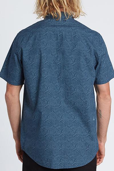 Рубашка Billabong Sundays Mini Ss Dark Blue