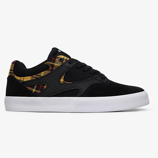 Кроссовки DC Shoes Kalis Vulc Se M Shoe Bpa Black Plaid