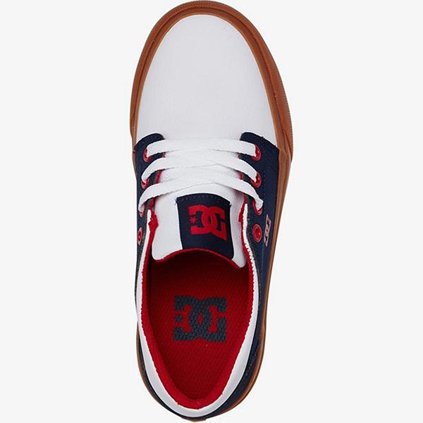 Кроссовки детские DC Shoes Trase B Shoe Nwh Navy/White