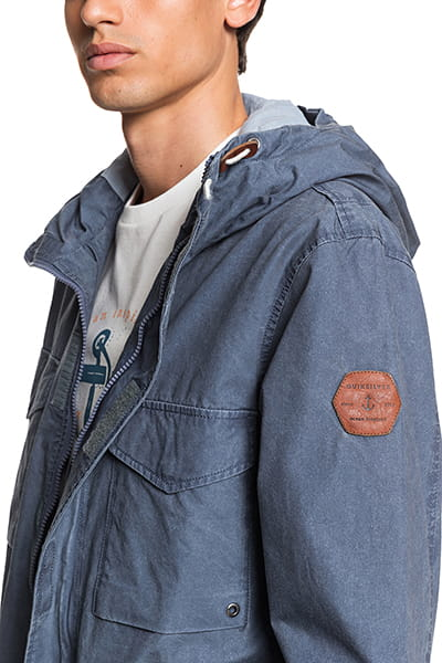 Куртка QUIKSILVER Mattinjkt M Jckt Byj0 Navy Blazer