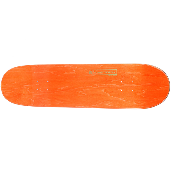 Дека для скейтборда Юнион Team RedWhite 32 x 8.375 (21.3 см)