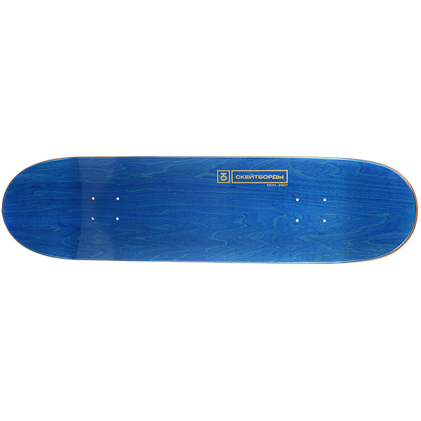 Дека для скейтборда Юнион Team Black/Orange 32.5 x 8.5 (21.6 см)