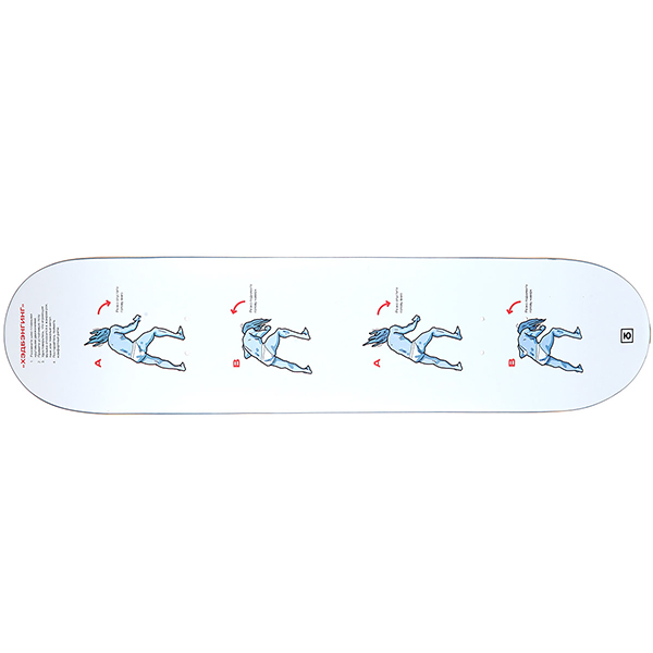 Дека для скейтборда Юнион HeadBanging 31.5 x 7.5 (19.1 см)