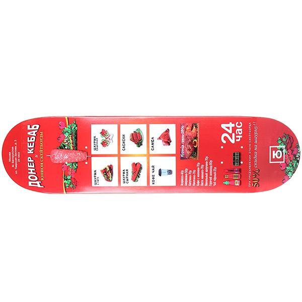 Дека для скейтборда Юнион Донер  32 x 8.25 (21 см)