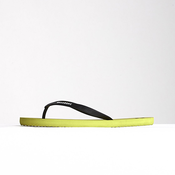 Billabong Вьетнамки Tides Solid Lime