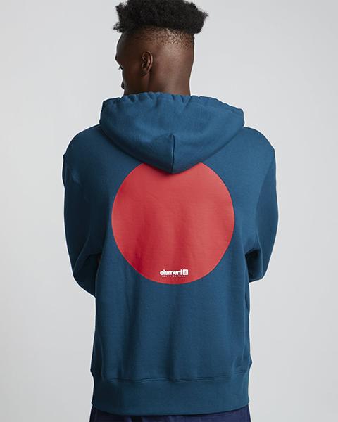 Мужская толстовка классическая женский Element Tokyo Dot Legion Blue