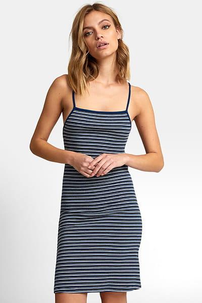 Платье женское Rvca Bianca Dress Federal Blue