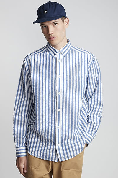 Рубашка Element Bold Ls Blue Stripes