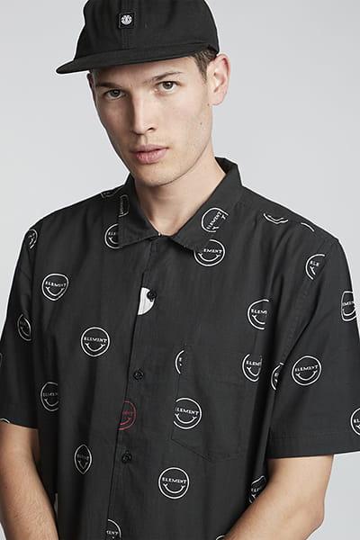 Рубашка Element Polka Smile Hello Black