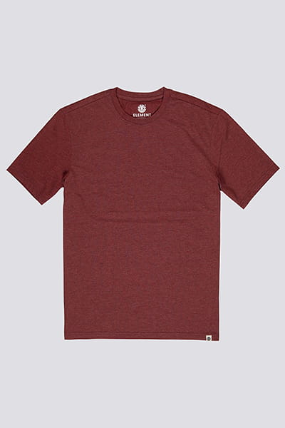 Футболка Element Basic Crew Port Heather