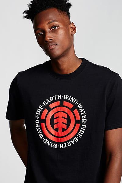 Футболка Element Seal Flint Black