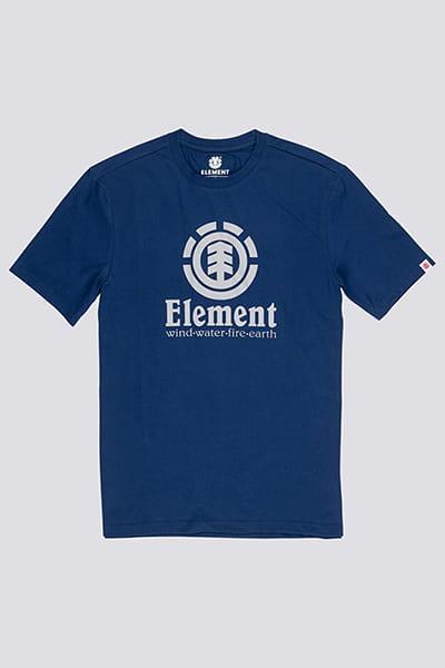 Футболка Element Vertical Blue Depths