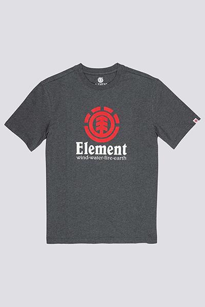 Футболка Element Vertical Charcoal Heathe-39