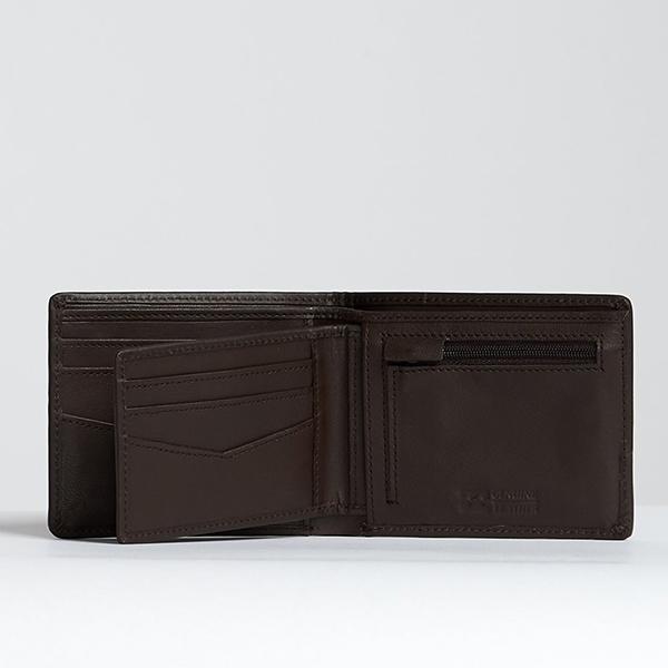 Кошелек Billabong Arch Id Leather Chocolate