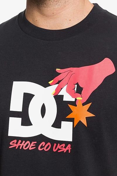 Футболка DC Shoes Keep Str In Plc M Tees Kvj0 Black