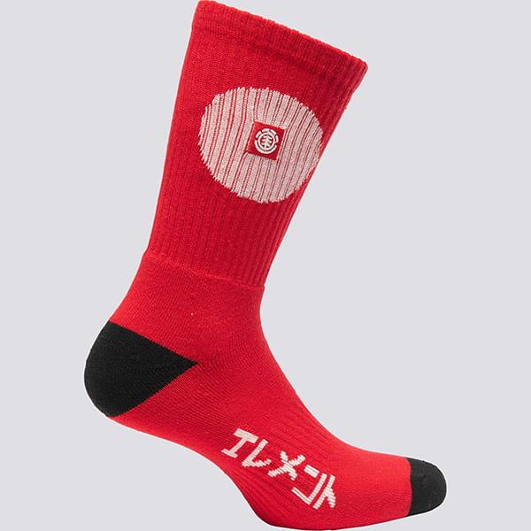 Носки Element Tokyo Fire Red